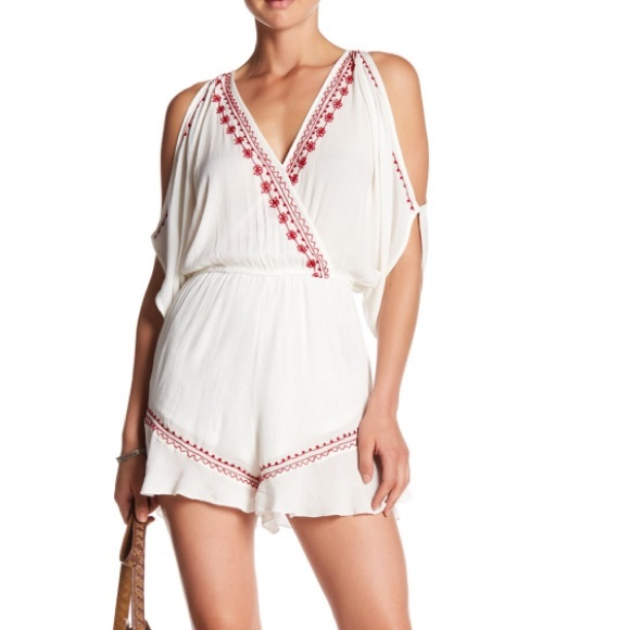 fdefa272d695 Band of Gypsies Moroccan Embroidered Romper